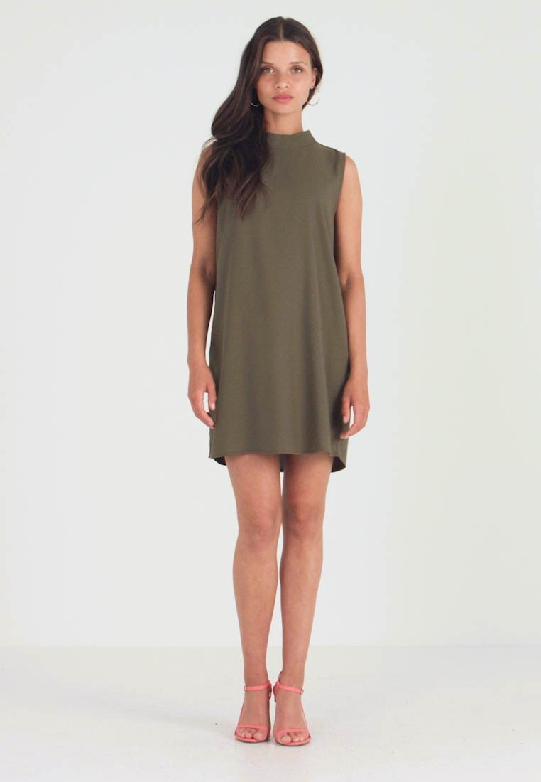 Even&Odd Petite - Freizeitkleid - olive night