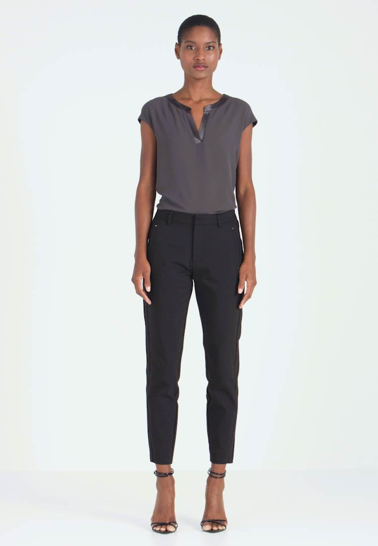 Freequent - ISADORA ANKLE - Trousers - black