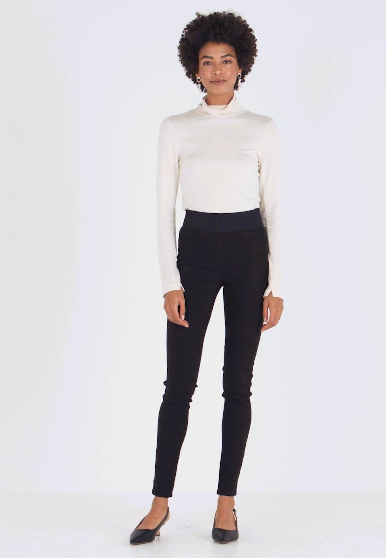 Freequent - SHANTAL - Trousers - black