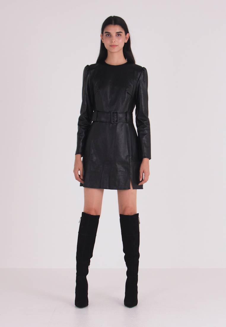 Fashion Union - BORBAN - Freizeitkleid - black