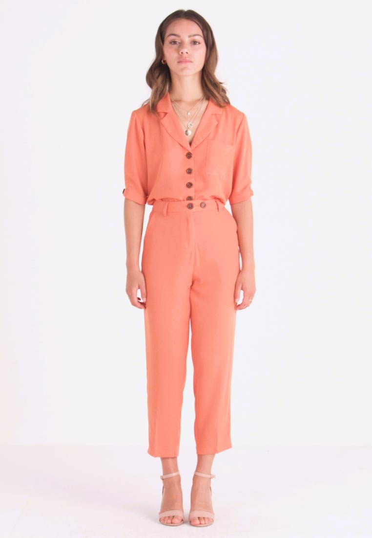 Fashion Union Petite - SAFFRON  - Kalhoty - orange