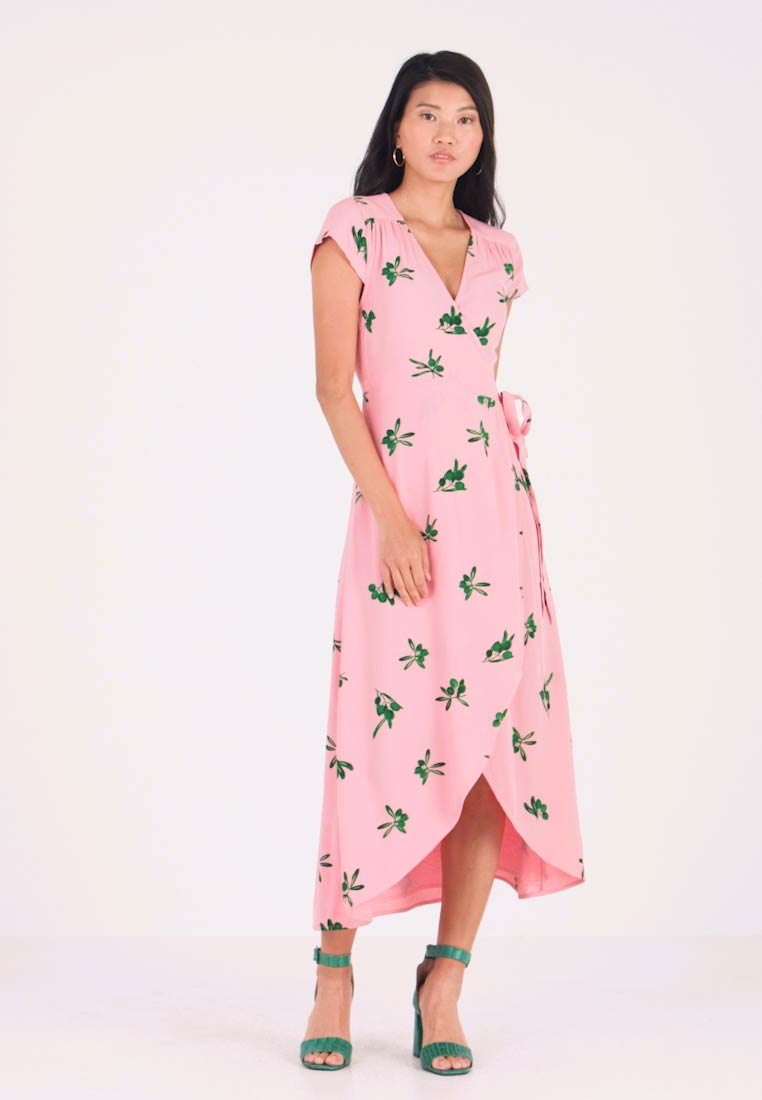 Fabienne Chapot - ARCHANA DRESS - Robe longue - geranium pink/green