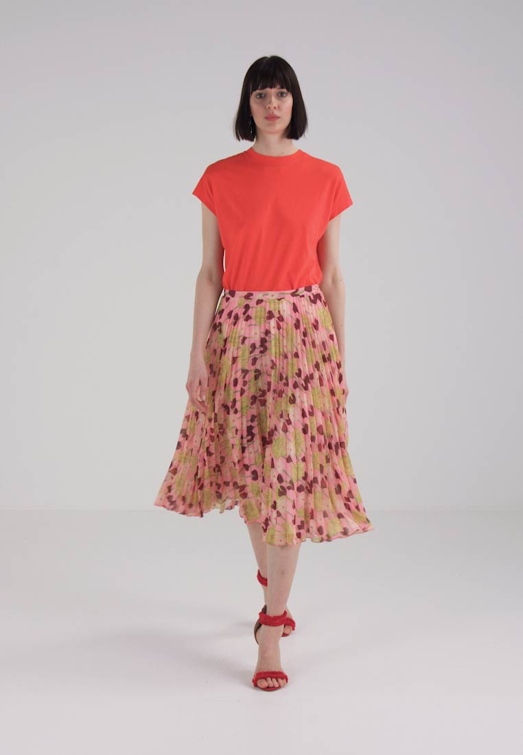 Finery London HOBMAN FLORAL PRINTED SKIRT - A-line skjørt - rose