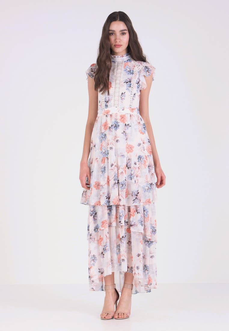 f9252f917bd2 Forever New FLORAL TIERED UPDATE - Maxi dress - multicolor - Zalando ...