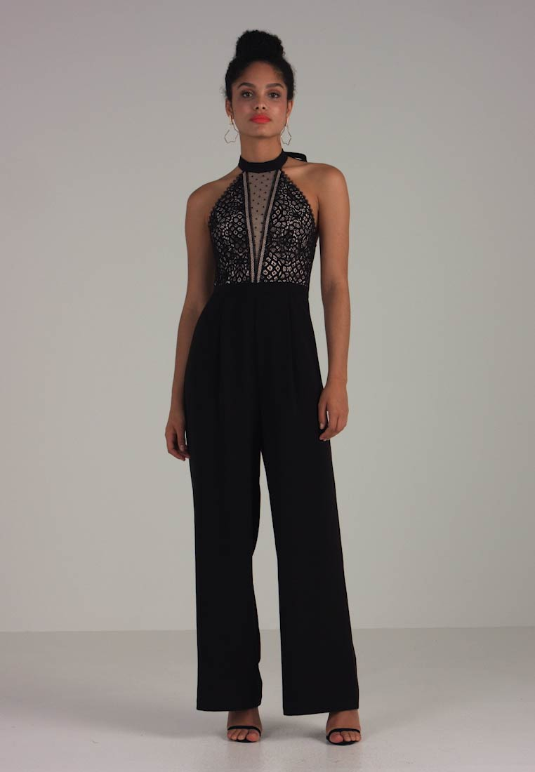 Forever New - HALTERNECK - Jumpsuit - black