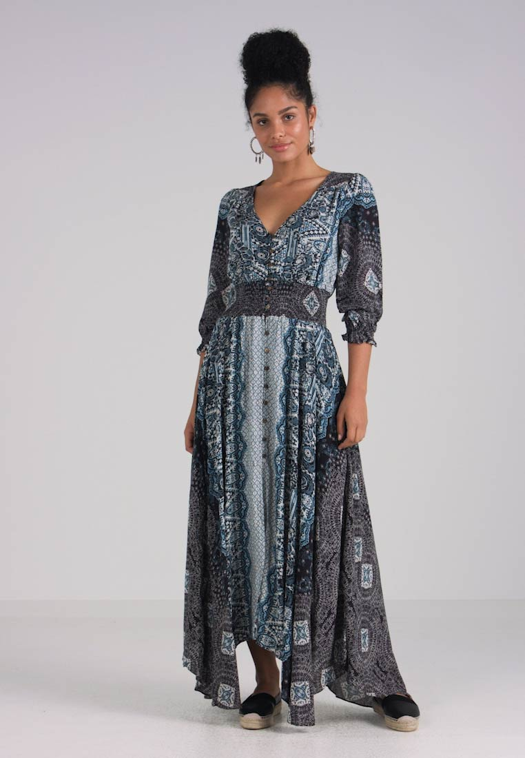 Dress Maxi People Free Mexicali Black qUtwHPx