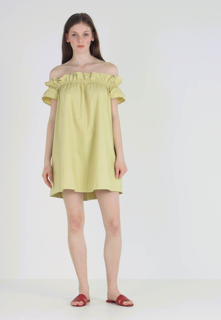 Free People - SOPHIE DRESS - Vestido informal - chartreuse