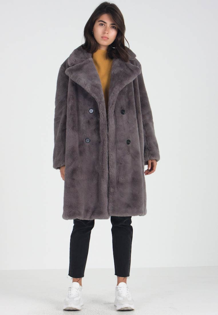 6a3c544814 French Connection ANNIE BREASTD - Winter coat - moody grey - Zalando ...
