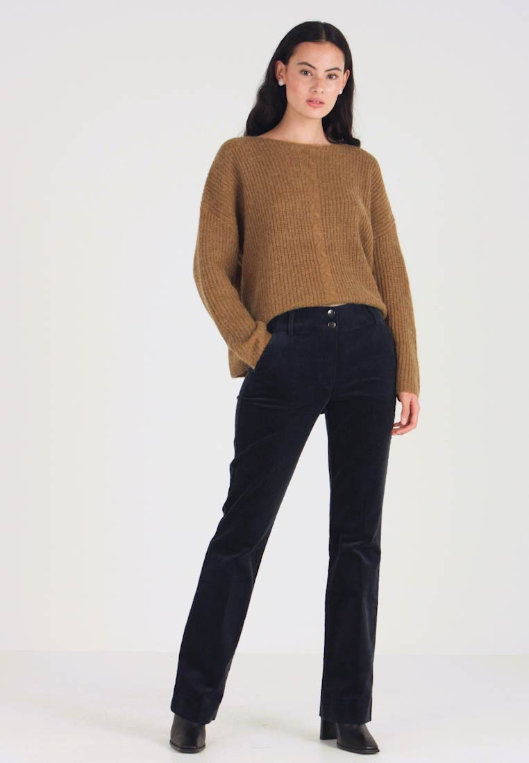 Fiveunits - CLARA LONG - Trousers - navy