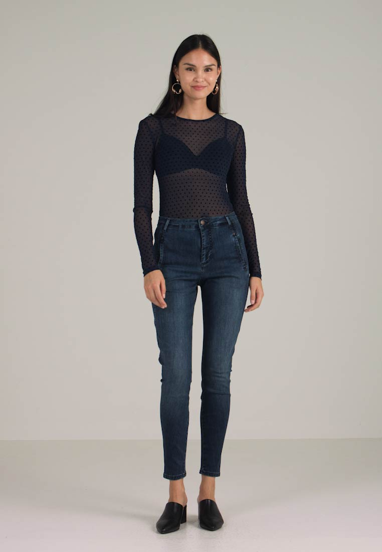 Jolie Scuro In Fit Blu Fiveunits Denim Jeans Slim FdwxqaA