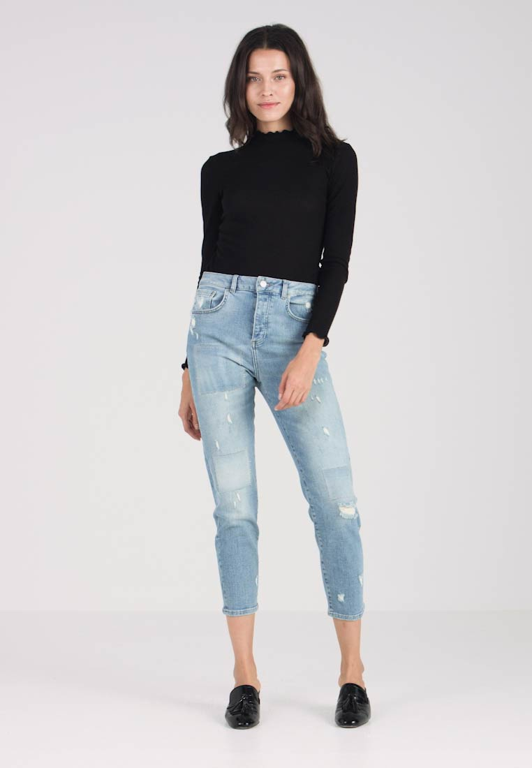 Fiveunits - CLOÉ HIGH  - Relaxed fit jeans - light blue