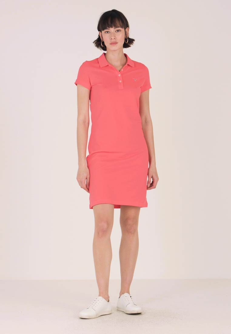 GANT - THE ORIGINAL DRESS - Etuikleid - watermelon red
