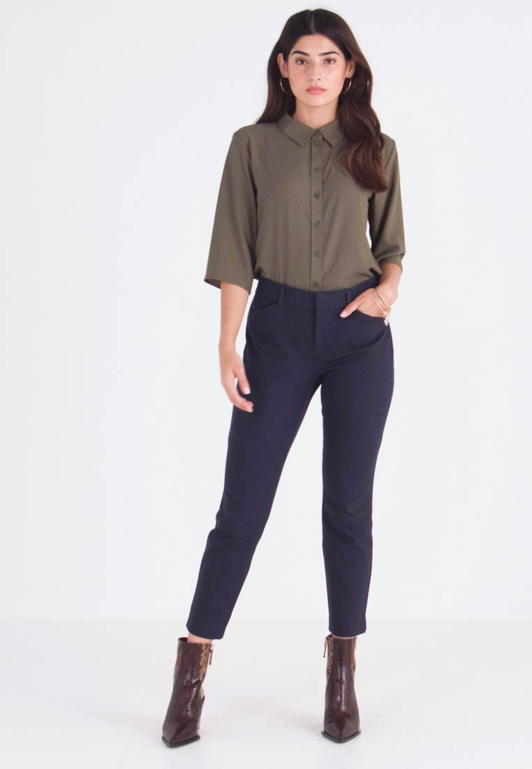 GAP Petite - ANKLE BISTRETCH - Trousers - true indigo