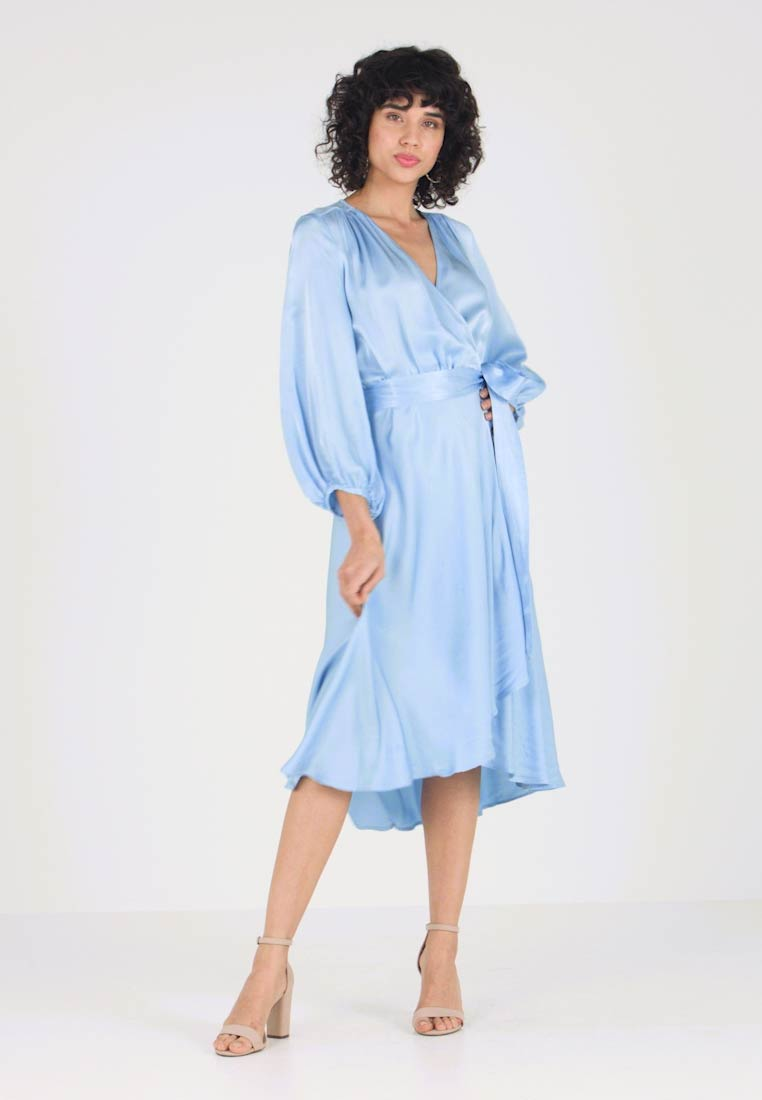 e92831fb Ghost AGGIE DRESS - Kjole - pale blue - Zalando.no