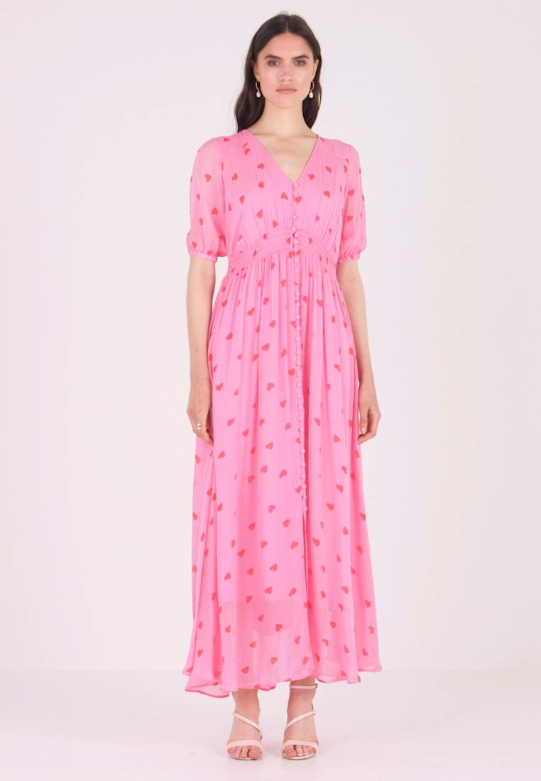 Ghost - VALENTINA DRESS - Maxi šaty - pink