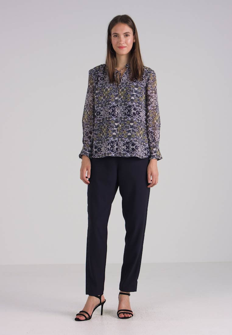 Midnight Great Multi Flower Speckled Blouse Combo Plains wxRzqT