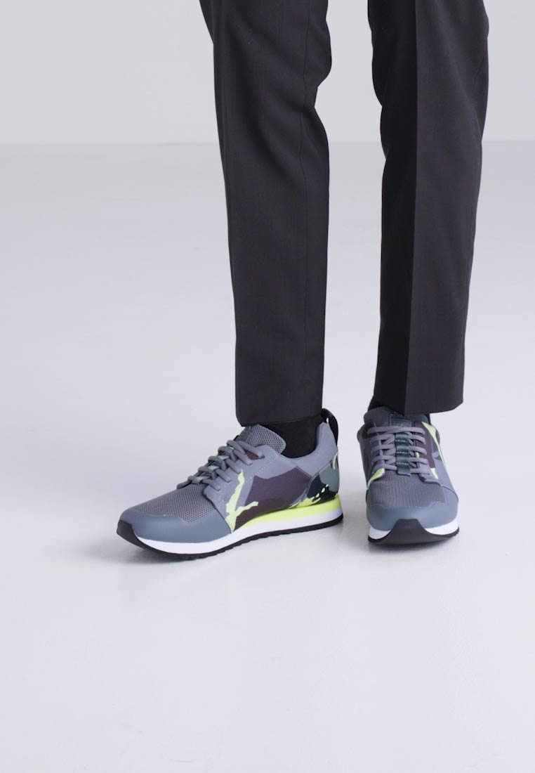 G-StarDELINE - Trainers - neon yellow/asfalt lzxhmuVo