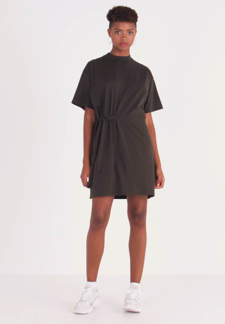 G-Star - DISEM LOOSE DRESS - Jersey dress - asfalt