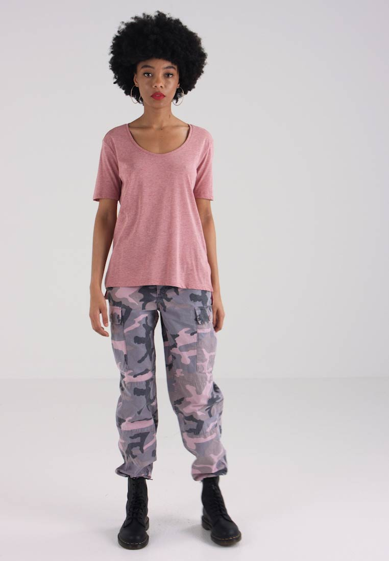 Dk Basic Pink G s shirt S Wmn Deep T Straight Dusty Rie star T P8qxPApBw