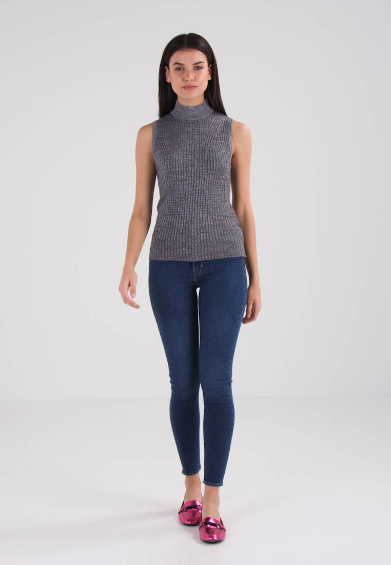 Charcoal turtle Jumper Mock Lynn G star Rxq80P