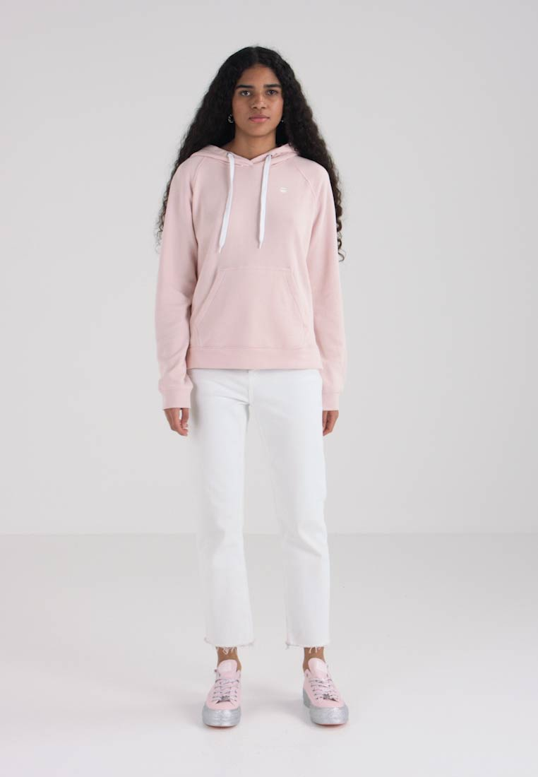 G-Star - LOOSE HOODED SW - Hættetrøjer - rosa