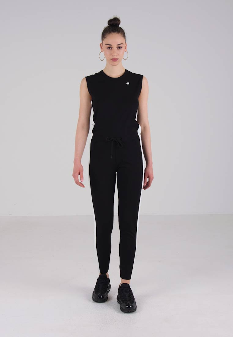 133fa14d7fb0 G-Star DUNDJA SUIT S LESS - Jumpsuit - black - Zalando.nl