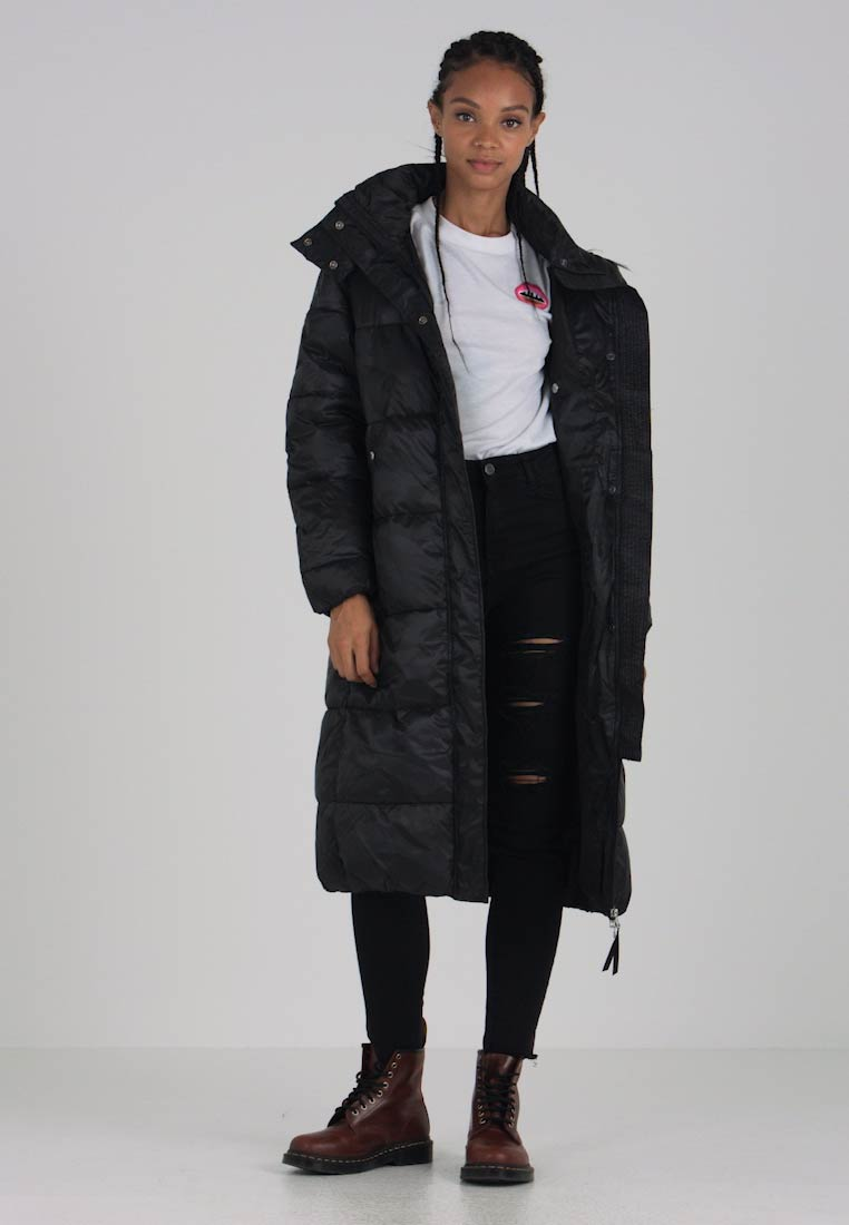 G-Star - STRETT-S ANN BF HDD LONG JKT WMN - Winter coat - dk black-6484