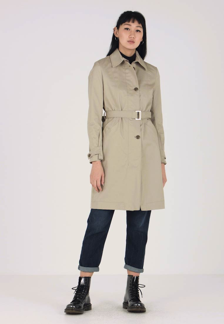 G-Star - MINOR LONG SLIM - Trenchcoat - beige