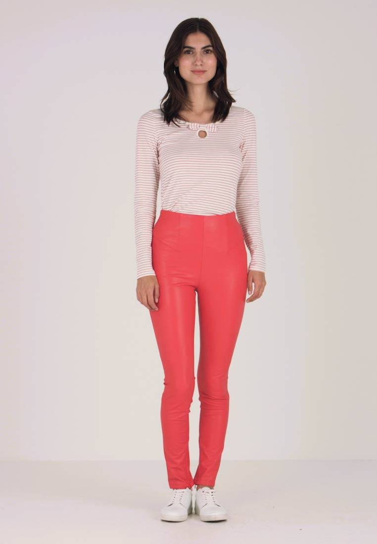 Guess - CHARLOTTE PANTS - Trousers - necessary red
