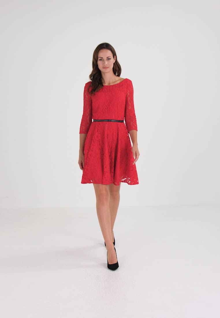 Guess CINZIA DRESS - Cocktailkjole - rot