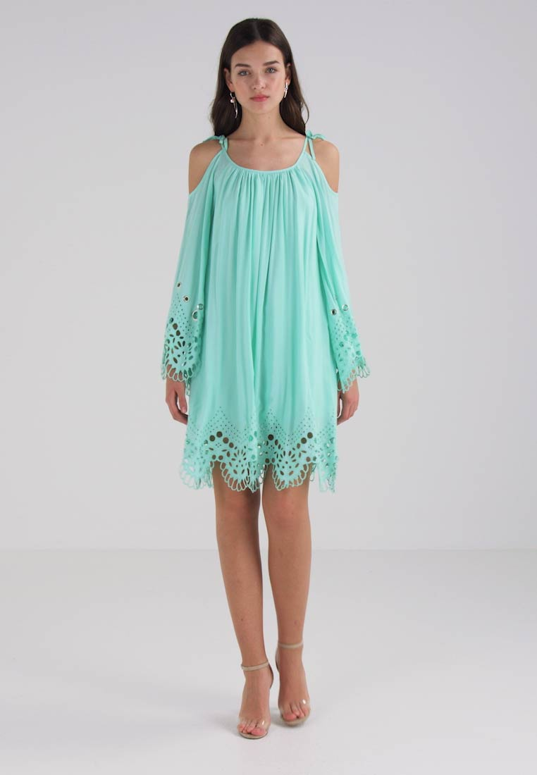 Guess ZAHLIA DRESS - Robe dété - green abyss