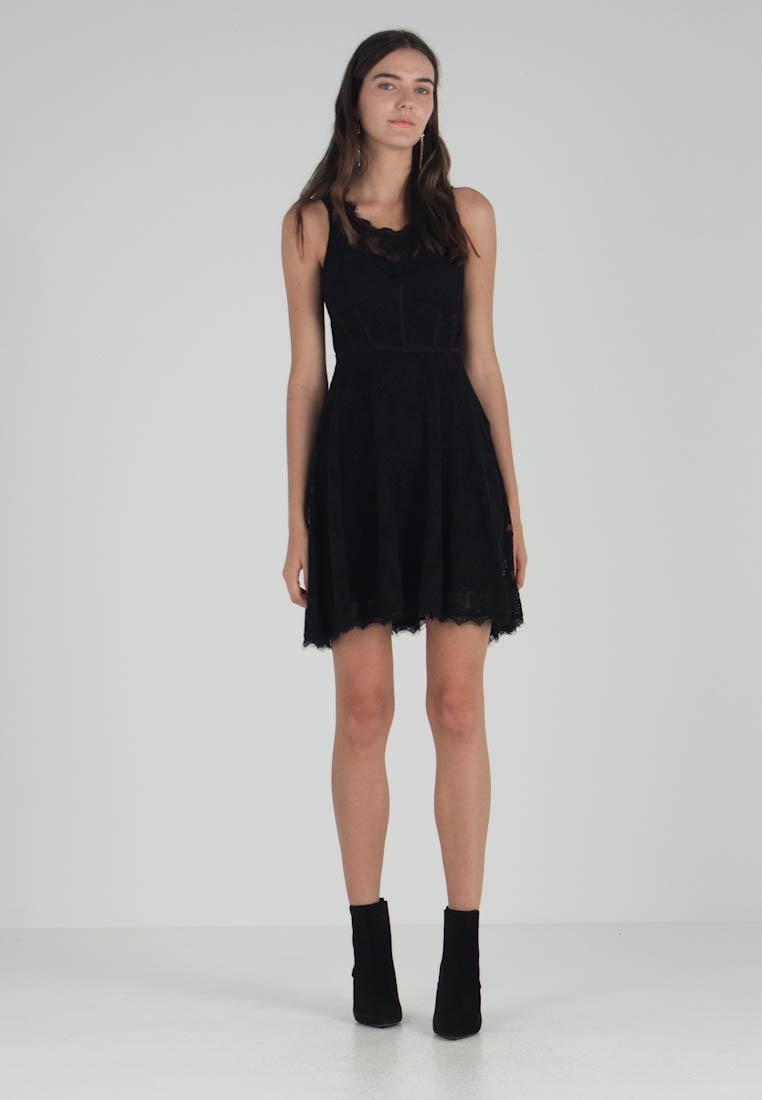 Shaira Elegante it Dress Vestito Black Jet Guess Zalando wAfpqdw