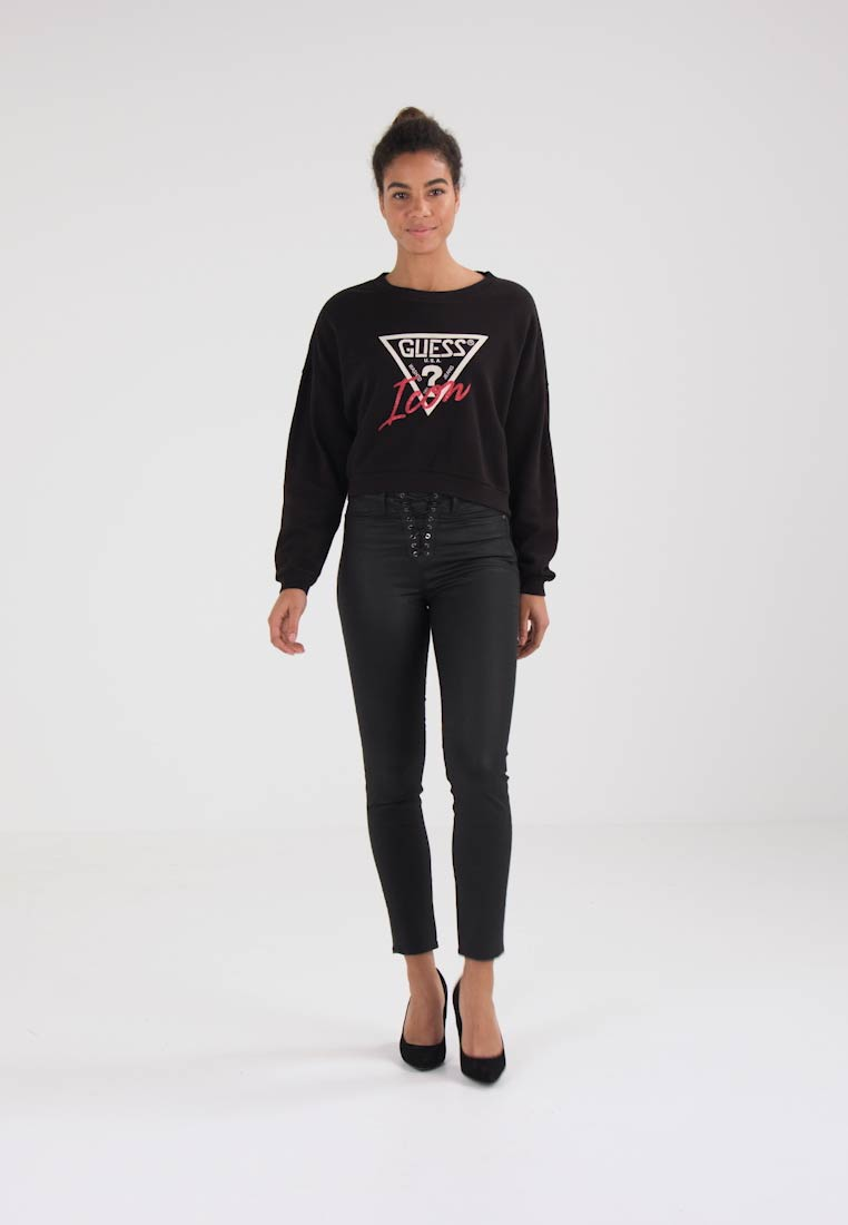 Guess TRIANGLE  - Genser - jet black