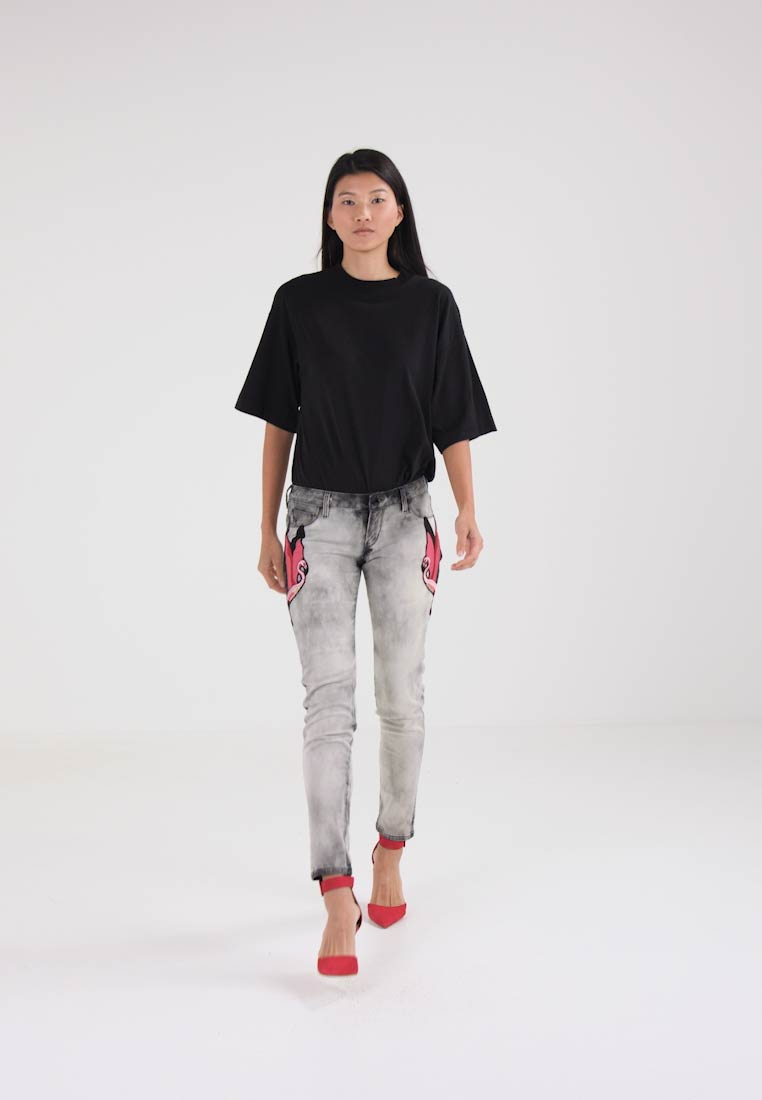 Guess BEVERLY - Jeans Skinny Fit - grey denim