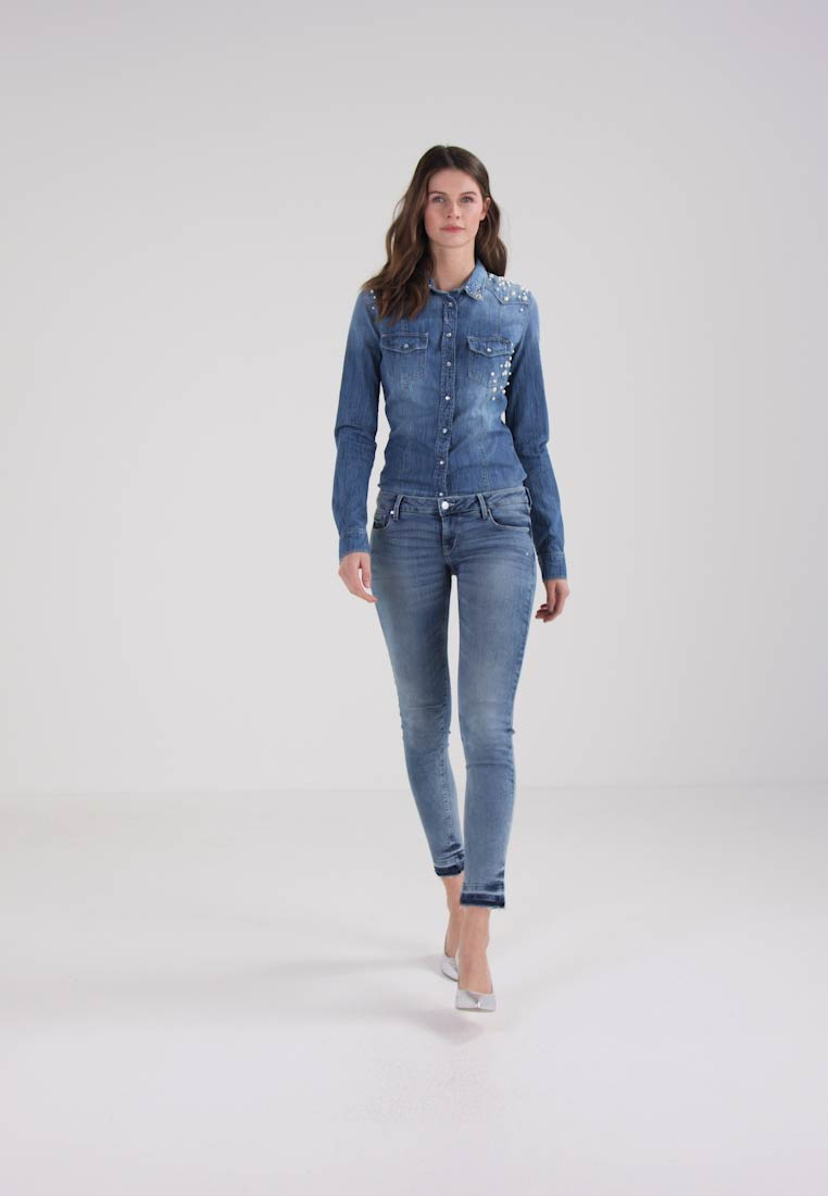 Guess BEVERLY - Jeans Skinny Fit - coney wash