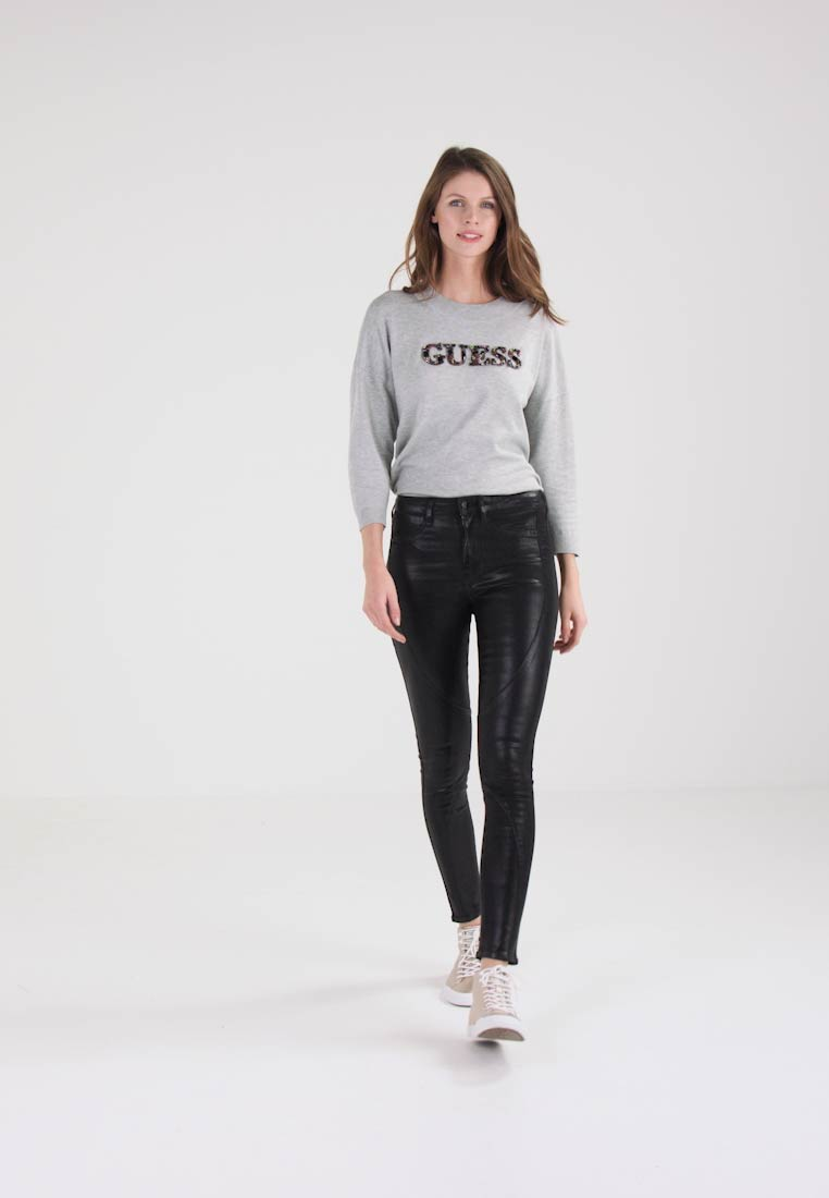 Guess LEONOR - Jeans Skinny Fit - black manicure