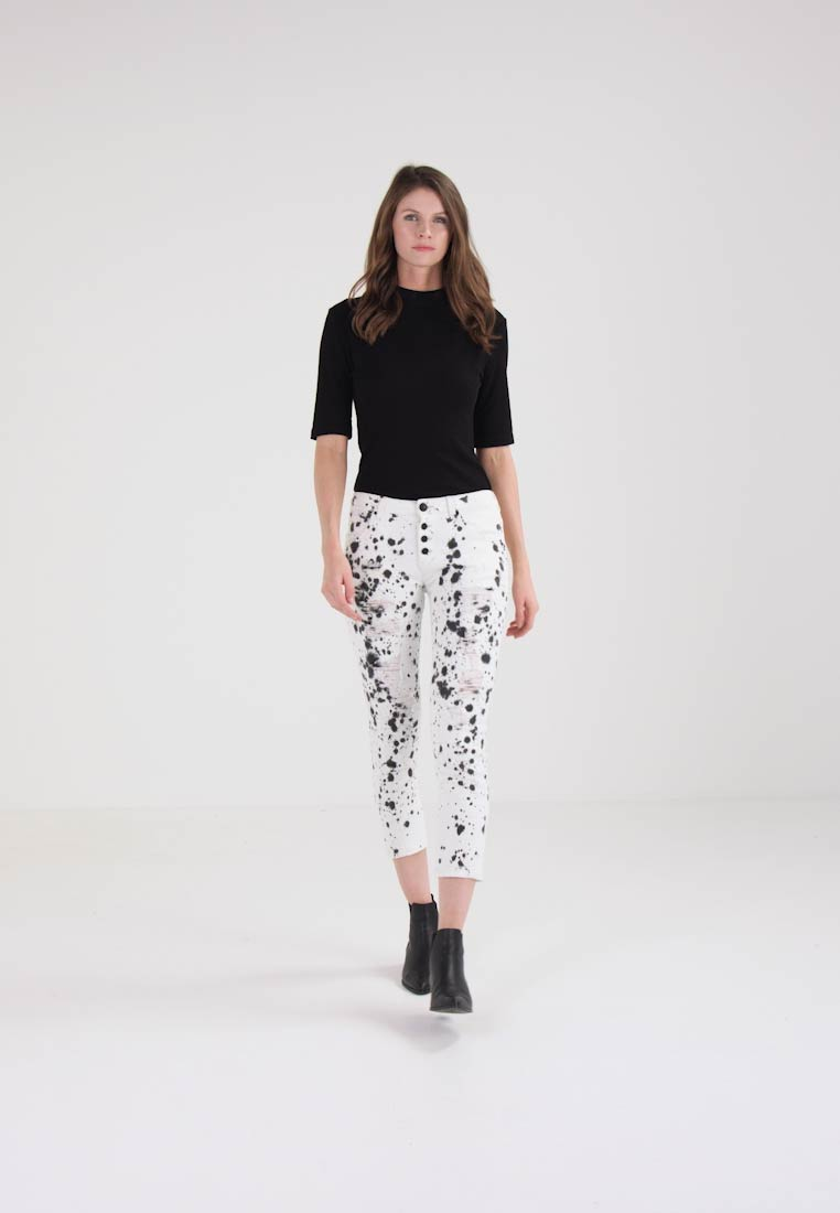 Guess VANILLE BUTTONS - Jeans Skinny Fit monochrome