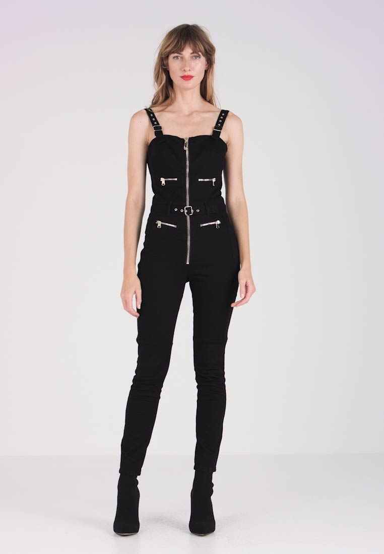 Guess - LELI BIKER - Overal - ebony washed