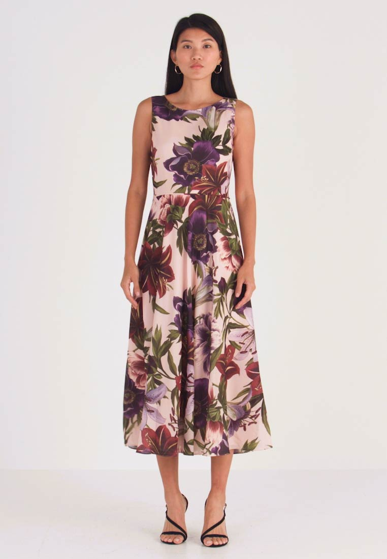 Hobbs - ARGENTI PRINT CARLY DRESS - Cocktail dress / Party dress - blush/multi