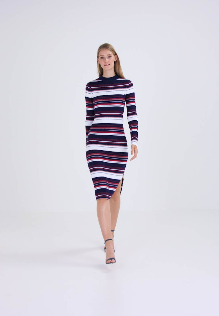 Hilfiger Denim STRIPE - Robe longue - blue