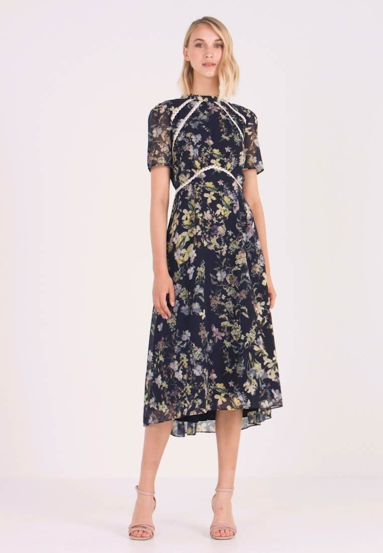Hope & Ivy - Cocktail dress / Party dress - navy