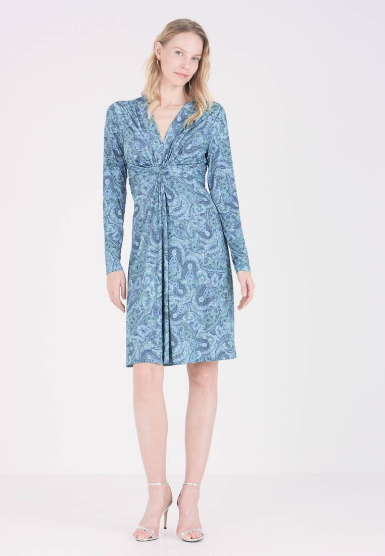 Ilse Jacobsen - DRESS - Jerseykleid - country blue