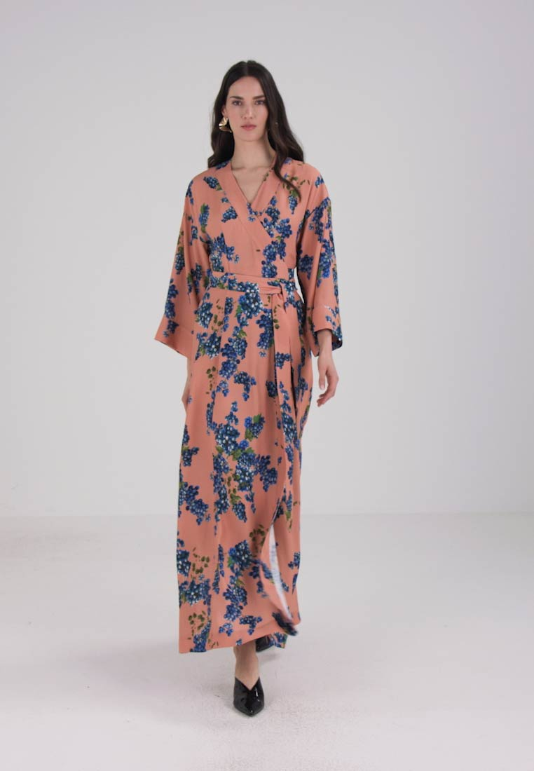 Zalando Maxi Jurk.Ivy Oak Kimono Dress Maxi Dress Rose Zalando Co Uk