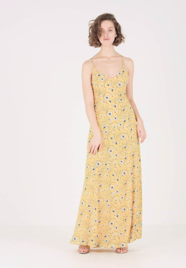 IVY & OAK - SPAGHETTI DRESS LONG - Maxi-jurk - strong yellow