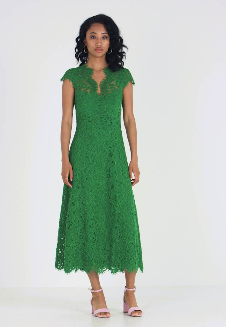 IVY & OAK - FLARED DRESS CAP SLEEVE - Ballkleid - secret garden green