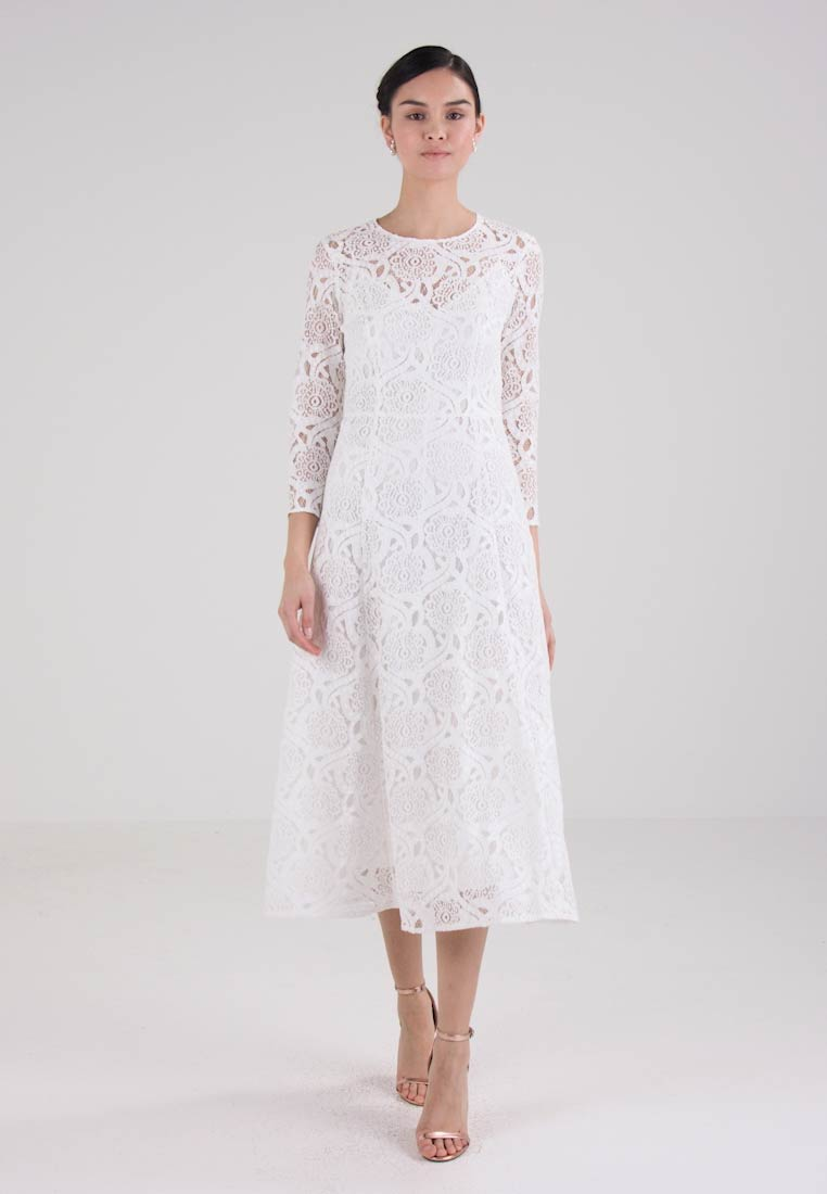 IVY & OAK BRIDAL MIDI DRESS - Robe de cocktail - snow white