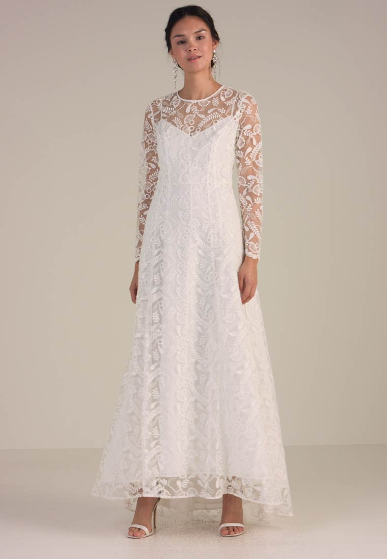e3599faa8b1b IVY   OAK BRIDAL - EMBROIDERED BRIDAL DRESS - Occasion wear - snow white