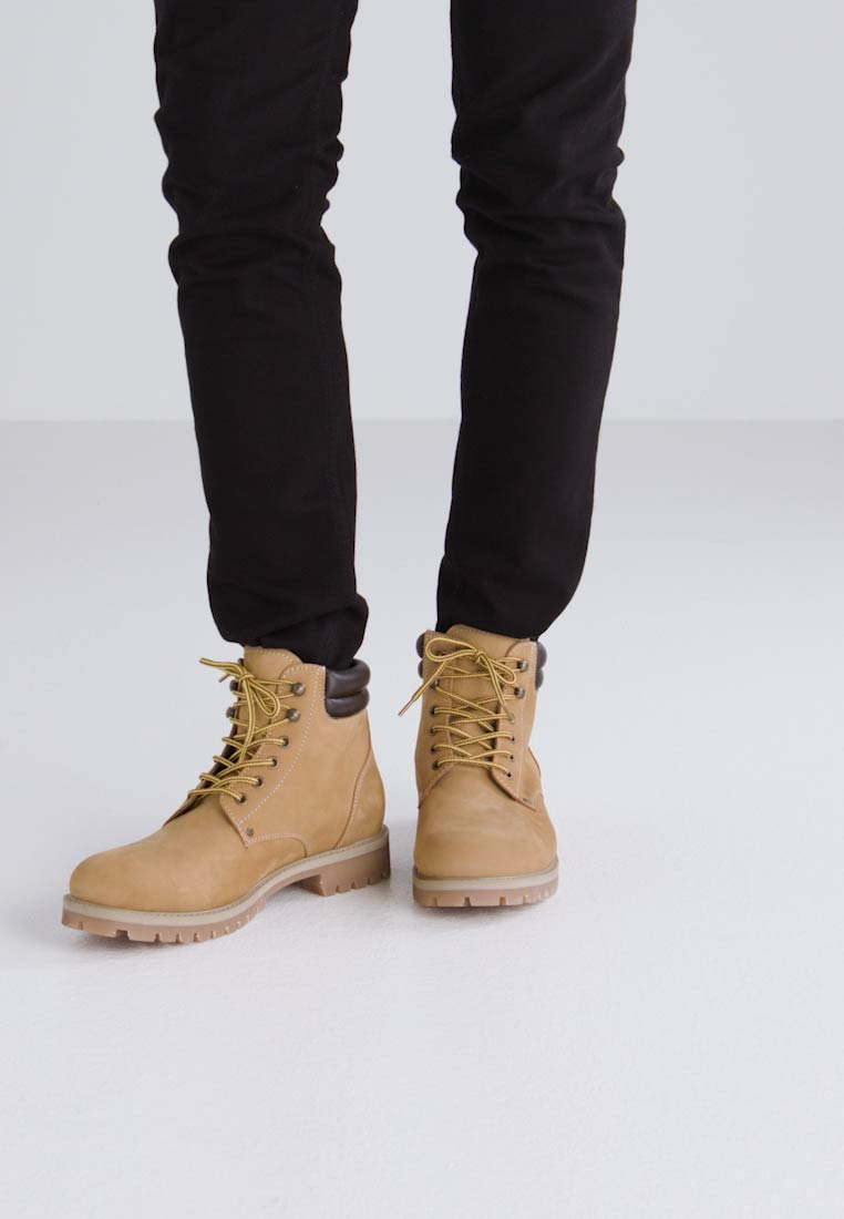 Jack & Jones JFWSTOKE - Botines con cordones honey PPzW5