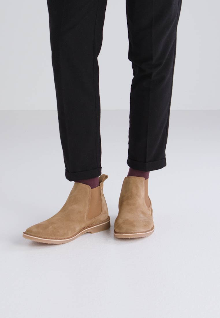 Jack & Jones JFWLEO - Bottines marron clair