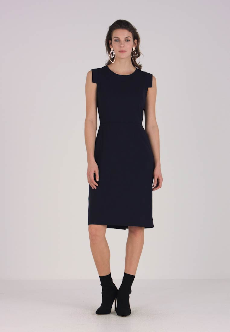 J.CREW TALL - RESUME DRESS BISTRETCH - Etuikjole - navy